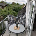 Balkon Blick zum Zoo